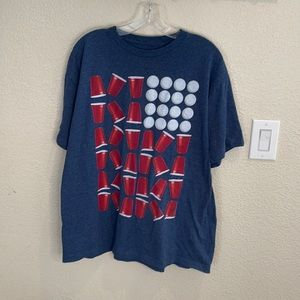 Univibe• Beer Pong Graphic T-Shirt